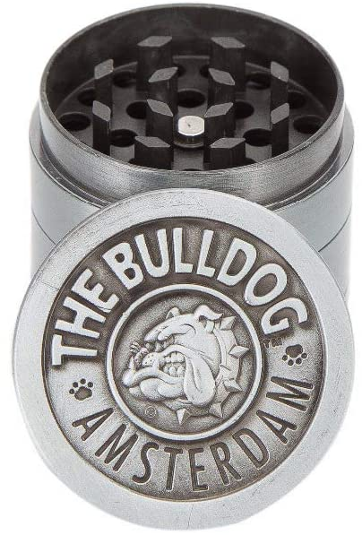Bulldog Metal Herb Grinder (4 Part)