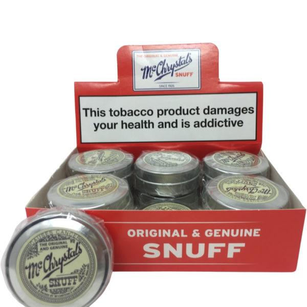 McChrystals: Snuff Tobacco
